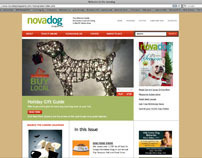 Northern Virginia Dog Magazine Web Site Redesign