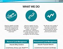 Plain website layout Redesign