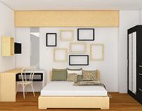 GreenBay - Studio Apartment Design