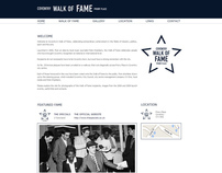 Coventry Walk of Fame - Website