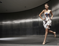 SAKS FITH AVENUE /MEXICO fashion shot in NYC