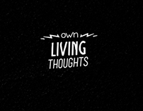 own living thoughts