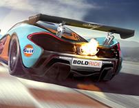 McLaren P1 GTR speculative renders