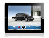 VW up! iPad Catalogue App