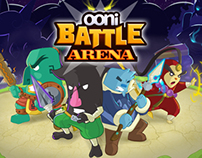 """OONi Battle: Arena"" Promo Art"