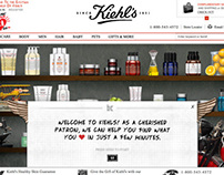 Kiehls.com: Find What You Love Redesign