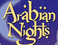 Arabian Nights Poster Design