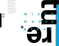 Sculpture: Mixed Media + Glass Poster