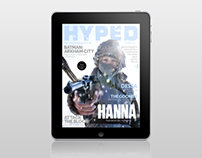 Hyped Magazine #5 for iPad