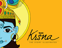 KRSNA : The Story Illustrated