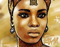 Black women portraiture