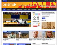 Website Diario el Prisma 2014