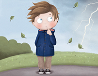 "Illustrations for children's handbook ""Motion 8-9"""