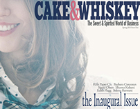 CAKE&WHISKEY MAGAZINE SPRING 13