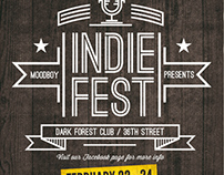 Indie Fest Flyer/Poster Template