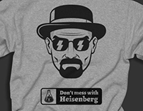 Tee shirt  /// Breaking bad /// Heisenberg