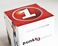 "Punkt1. A series of ""empty"" packaging"