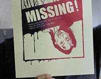 """Guerrilla ART 藝術游擊/ """"LOST"""" Print Gocco"""