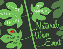 Natural Wine Event Postcard