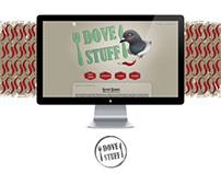 Dove Stuff - blog design