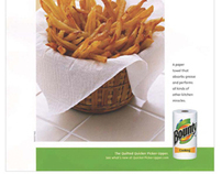Bounty Paper Towels Campaign
