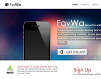 FavWa Website Design