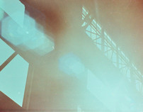 Factory De[constructed] - 35mm film cross-process