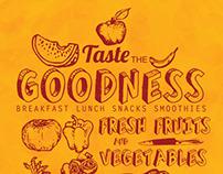 Taste the goodness/ Humzinger