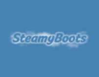 SteamyBoots - Identity Design & Social Media Web Design
