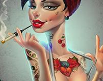 that tattooed girl