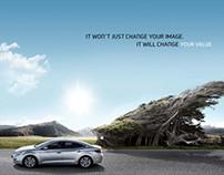 Hyundai azera Image ads