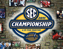 2011 SEC Football Championship Ticket