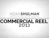 Noah Shulman Commercial Reel 2013