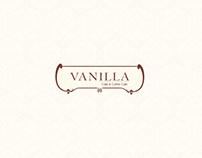 Vanilla Cake & Coffee Cafe Menu.