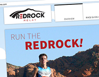Red Rock Relay Event Website