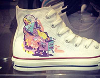 Custom Converse Sneakers Collaboration