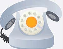 Old Telephone illustration Tutorial in Adobe Illustrato