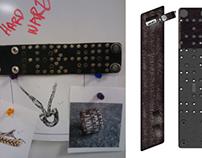 Diesel Men's leather jewelry