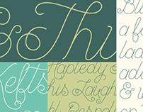 Blue Spruce Typeface