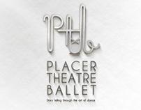 Placer Theatre Ballet Logo