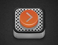Dietr Music Player - Button App
