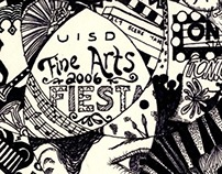 UISD Fine Arts Fiesta Logo