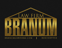 Branum law firm logo