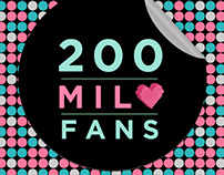 200.000 fans Maybelline New York