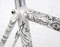Illustrated Bike - Eisenherz