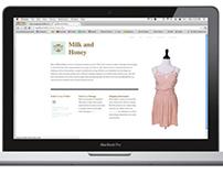 Milk and Honey Website