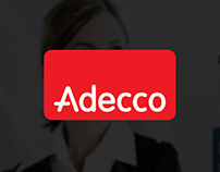 Adecco Landing page