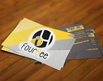 Cartão de visita FourBee
