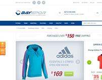 Sports Equipment E Commerce Theme