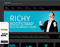 Richy - Html 5 Bootstrap theme